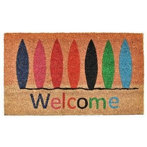 Home More 121771729 Surfboard Welcome Doormat 17 X 29 X 060 Multicolor 0 300x300