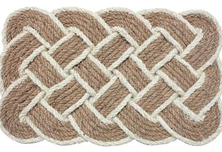 J-M-Home-Fashions-Oval-Knot-Woven-Coco-Doormat-22-Inch-by-36-Inch-0-450x308 Beach Doormats and Coastal Doormats