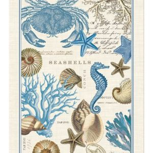Michel-Design-Works-Seashore-Kitchen-Towel-0-300x300 50+ Beach Hand Towels and Nautical Hand Towels For 2020