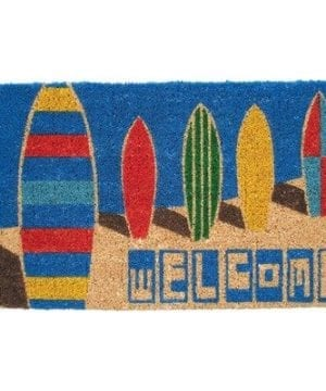 Mid-Thickness-Coir-Surf-Boards-Outdoor-Rectangular-Doormat-0-300x360 Surf Decor & Surfboard Decorations