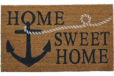 Mud-Pie-Anchor-Doormat-0-450x302 Nautical Anchor Decor