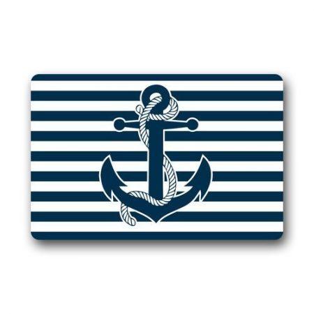 New-Hot-Wind-Custom-Machine-Washable-Door-Mat-Retro-Nautical-Anchor-IndoorOutdoor-Doormat-236-x-157-Inches-0-450x450 Beach Doormats and Coastal Doormats