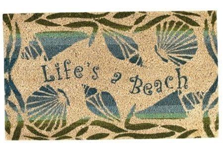 Park-Designs-Lifes-a-Beach-Doormat-0-450x298 Beach Doormats and Coastal Doormats