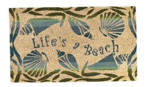 Park-Designs-Lifes-a-Beach-Doormat-0 Beach Doormats and Coastal Doormats