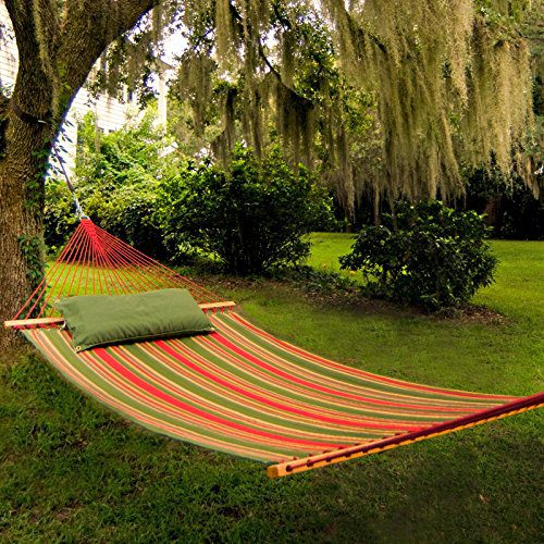 Pawleys Island Beaches Quilted Duracord Fabric Hammock 0 1