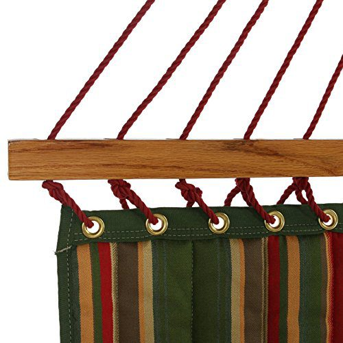 Pawleys Island Beaches Quilted Duracord Fabric Hammock 0 2