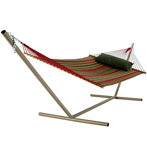 Pawleys Island Beaches Quilted Duracord Fabric Hammock 0 3