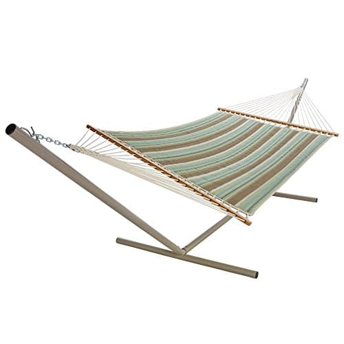 Pawleys Island Beaches Quilted Duracord Fabric Hammock 0