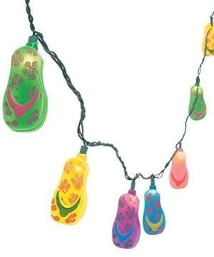 Plastic Flip Flop Party String Lights Beach Luau 0 300x360