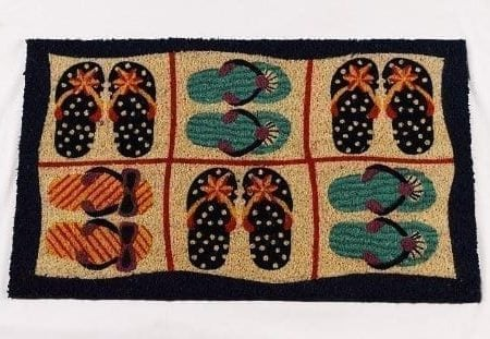 Printed-Coco-Coir-Printed-Mat-Beach-Design-0-450x311 Beach Doormats and Coastal Doormats