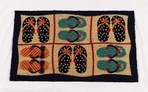 Printed-Coco-Coir-Printed-Mat-Beach-Design-0 Beach Doormats and Coastal Doormats