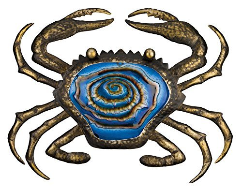 Regal Art And Gift Bronze Crab Wall Decor 20 Inch 0