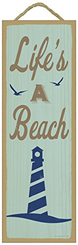 Summer-Quote-Wooden-Sign-Plaque-5-x-15-0 The Best Wooden Beach Signs You Can Buy