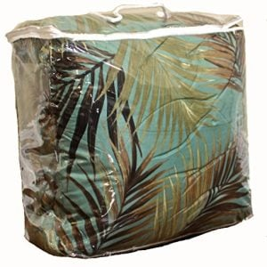 TROPICAL PALM TREE LEAFLEAVES OCEAN BEACH Coastal Bedding 8 Pieces Comforter Set Bed In A Bag 0 0 300x300
