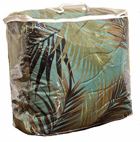 TROPICAL PALM TREE LEAFLEAVES OCEAN BEACH Coastal Bedding 8 Pieces Comforter Set Bed In A Bag 0 0