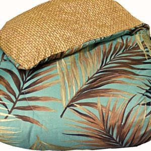 TROPICAL PALM TREE LEAFLEAVES OCEAN BEACH Coastal Bedding 8 Pieces Comforter Set Bed In A Bag 0 2 300x300