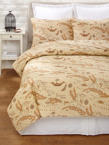 Tommy Bahama Map Quilt Set 0 The Best Nautical Quilts And