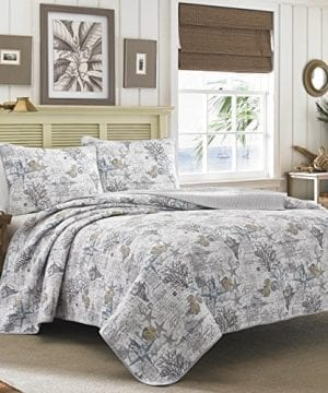 Tommy Bahama Quilt Set FullQueen Beach Bliss 0 300x360