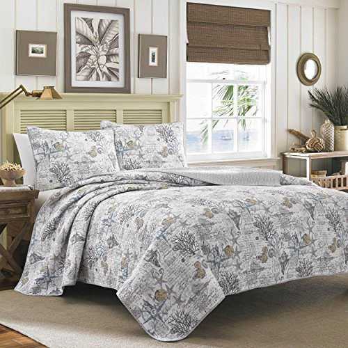 Tommy Bahama Quilt Set FullQueen Beach Bliss 0