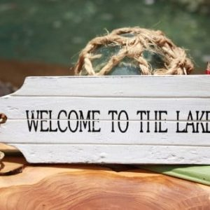 Welcome-To-The-Lake-Door-Tag-Wood-Sign-8-Rustic-Coastal-0-300x300 Beach Wall Decor & Coastal Wall Decor