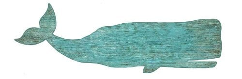 Whale-Silhouette-Aqua-Sign-0 The Best Wooden Beach Signs You Can Buy