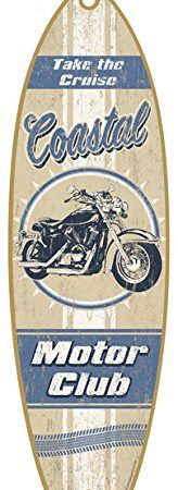 Wooden-Summer-Surfboard-Plaque-Sign-5-x-16-0-164x450 Surf Decor & Surfboard Decorations