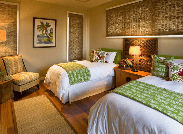 tropical-themed-bedroom-decor 5 Incredible Tropical Home Décor Tips