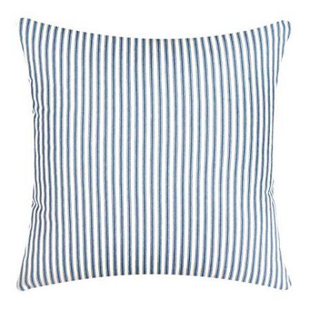 Decorative-Pillows-Throw-Pillows-Rectangle-Beach-Pillows-18-Square-Blue-Striped-Ticking-0-450x450 Nautical Pillows and Nautical Throw Pillows