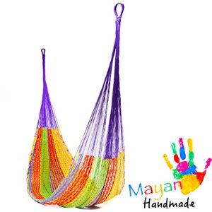 Handmade-Cotton-Hammock-Woven-by-Yucatan-Artisans-A-Fair-Trade-Item-Mold-To-You-Body-And-Most-Comfortable-Mexican-Style-in-Various-Sizes-up-to-770-lbs-Max-0-300x300 Best Rope Hammocks For Sale
