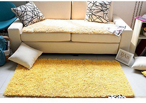 LOCHAS Microfiber Non Slip Bath Rug Bathroom Floor Mats Shower Rugs 0 2