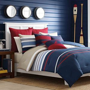 Nautica-Bradford-Reversible-Comforter-Set-0-300x300 Nautical Bedding Sets & Nautical Bedspreads