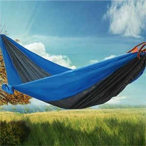 RioRand-2-Person-Portable-Outdoor-Double-Camping-Parachute-Hammocks984-Long-X-55-WideBlueGrey-0-300x300 Hammocks For Sale: Complete Guide For 2020