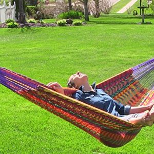 Sunnydaze-XXL-Thick-Cord-Mayan-Hammock-Multiple-Options-Available-0-300x300 Best Rope Hammocks For Sale