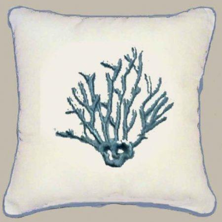 Throw-Pillows-Indoor-Outdoor-Pillows-Couch-Nautical-Beach-Shells-Accent-Pillows-Blue-Coral-18-Cover-Only-0-450x450 Nautical Pillows and Nautical Throw Pillows