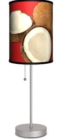 Various-Coconuts-Sport-Silver-Lamp-0-203x450 100+ Coastal Themed Lamps