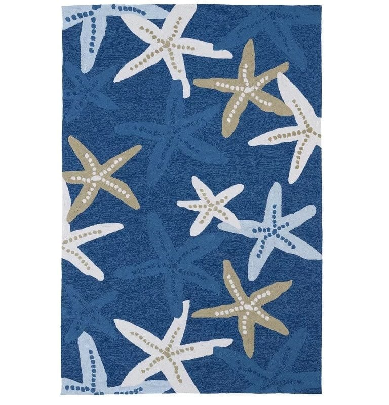 gordon-indoor-outdoor-starfish-rug-768x800 Nautical Rugs and Nautical Area Rugs