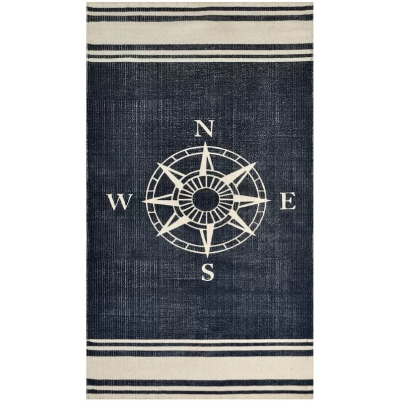 granville-hand-woven-navy-off-white-area-rug-800x800 Nautical Rugs and Nautical Area Rugs