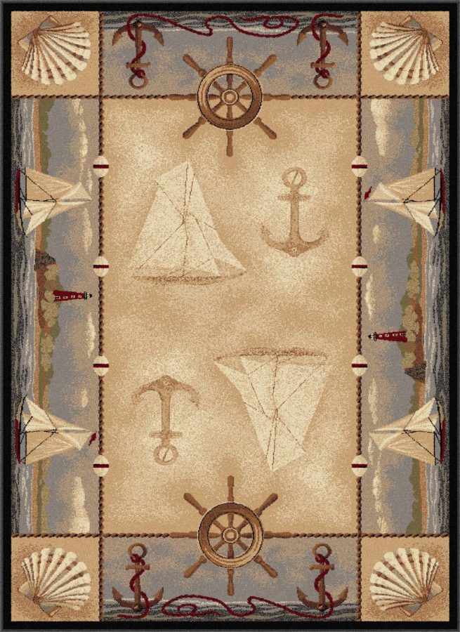 Beautiful Nautical Rugs Nautical Area Rugs Beachfront