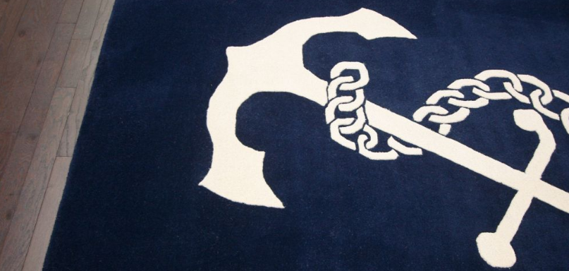 nautical area rug
