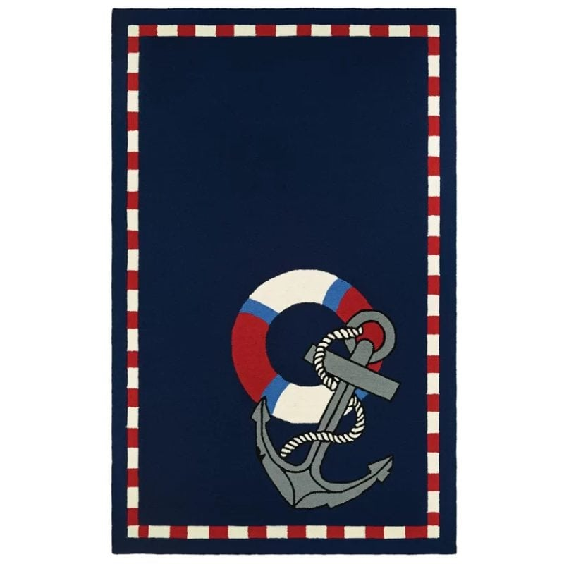 seaside-anchors-away-hand-knotted-rug-800x800 Nautical Rugs and Nautical Area Rugs