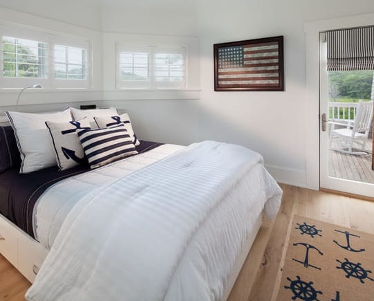Vacation-Home-in-Rehoboth-Beach-DE-by-Morgan-Howarth-Photography Nautical Bedding Sets & Nautical Bedspreads