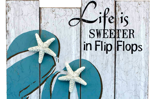 flip-flop-accent-decor