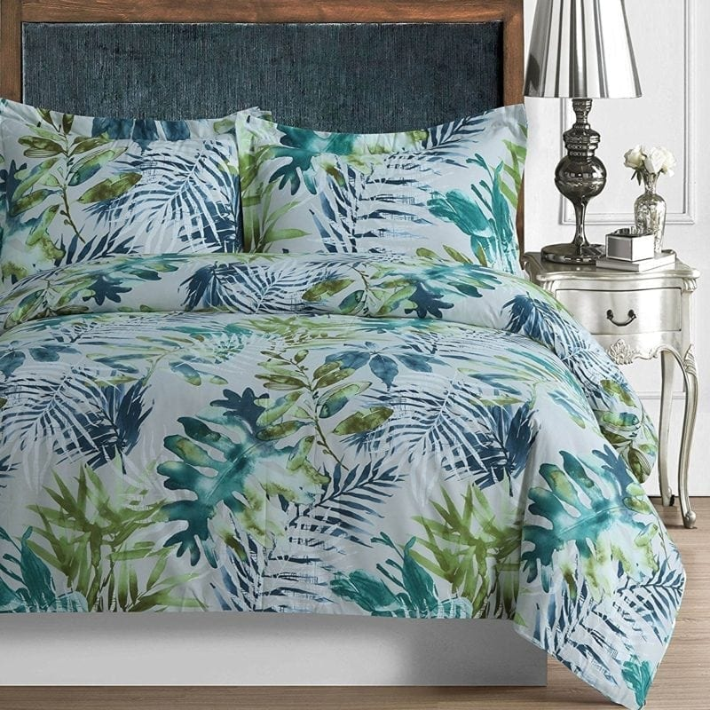 tribeca-living-madrid-duvet-cover-set-800x800 100+ Tropical Bedding Sets and Tropical Comforters For 2020