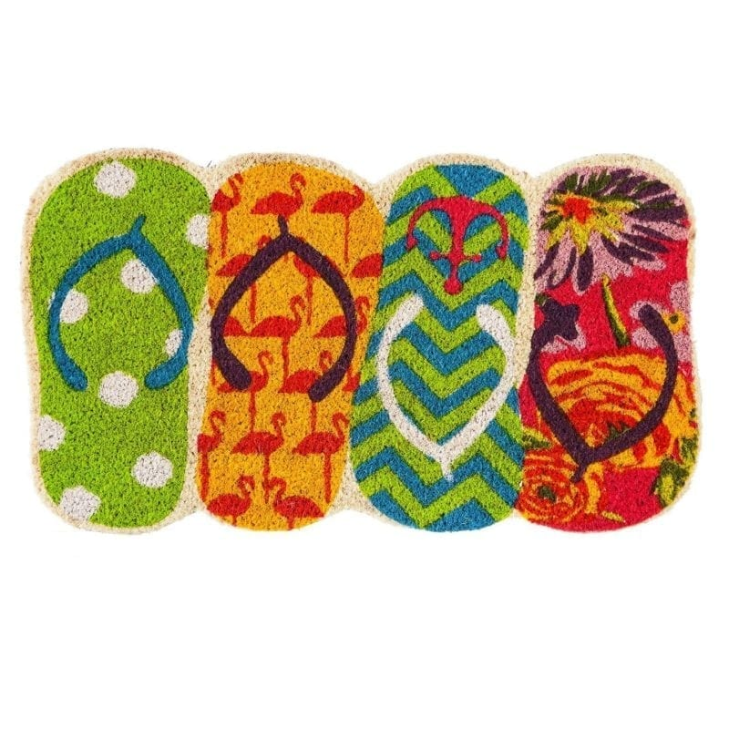 tropical-flip-flop-doormat-800x800 Flip Flop Decorations