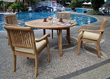 13-outdoor-teak-furniture-set Best Teak Patio Furniture Sets