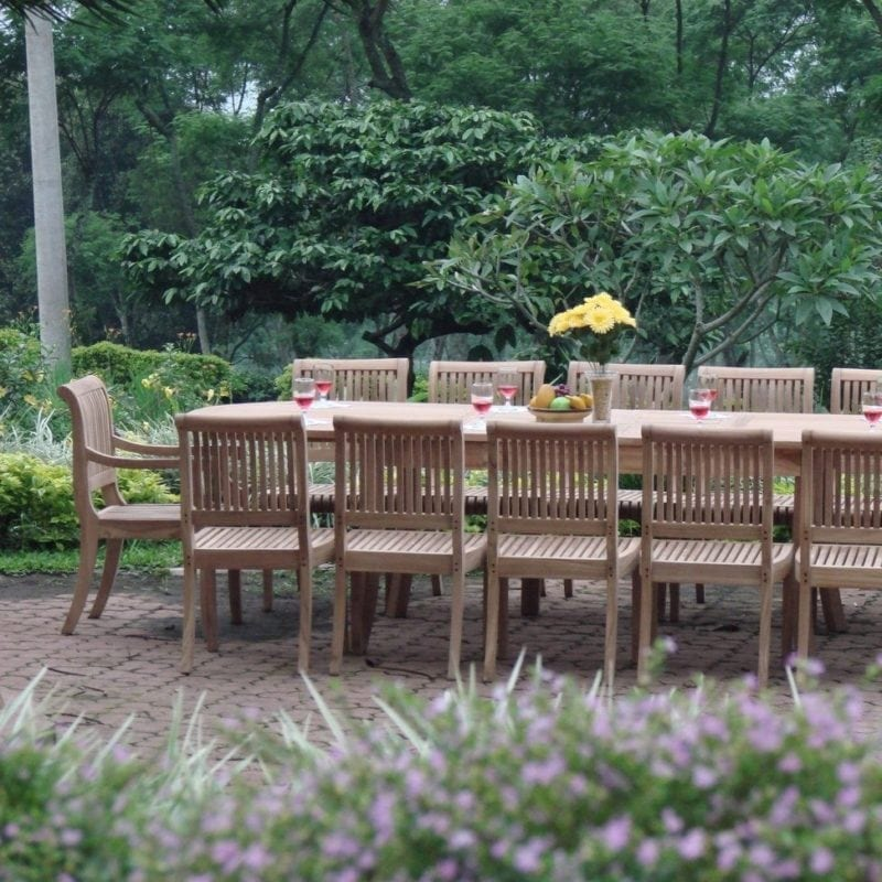13-piece-grade-a-teak-wood-dining-set-800x800 Best Teak Patio Furniture Sets