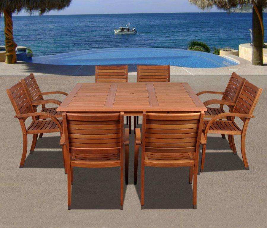 17-outdoor-teak-furniture-set Best Teak Patio Furniture Sets