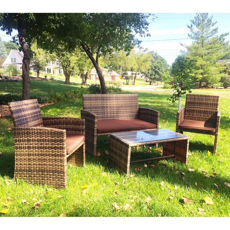 19-outdoor-wicker-furniture-sets Best Wicker Patio Furniture Sets