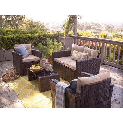 2-outdoor-wicker-furniture-sets Best Wicker Patio Furniture Sets