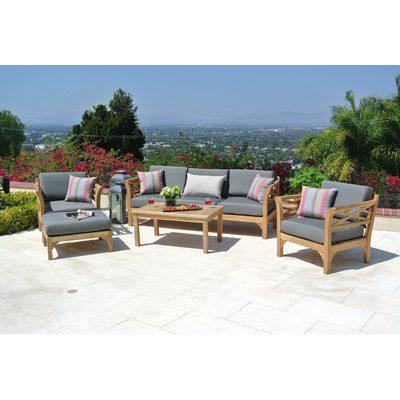 4-outdoor-teak-furniture-set Best Teak Patio Furniture Sets